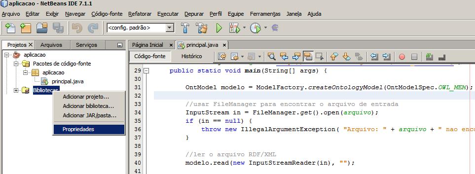 Instalação Jena - NetBeans e Eclipse (1/6)