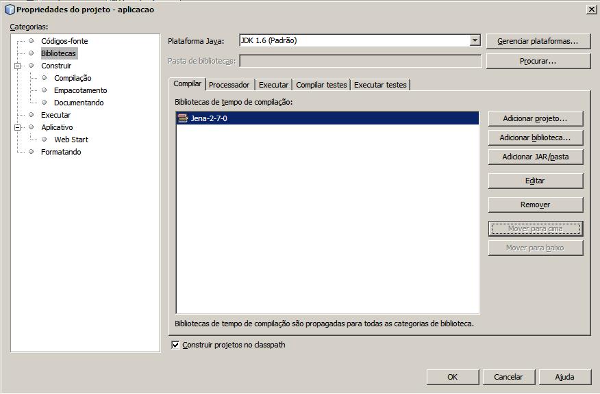 Instalação Jena - NetBeans e Eclipse (6/6)